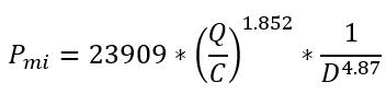 Hazen-williams equation 3