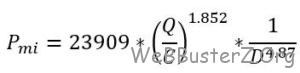 Hazen-williams equation 3