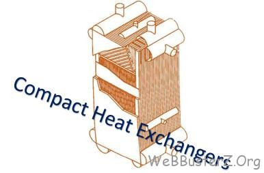 What is a compact heat exchanger?