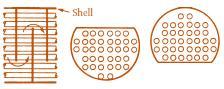 single segmental baffle